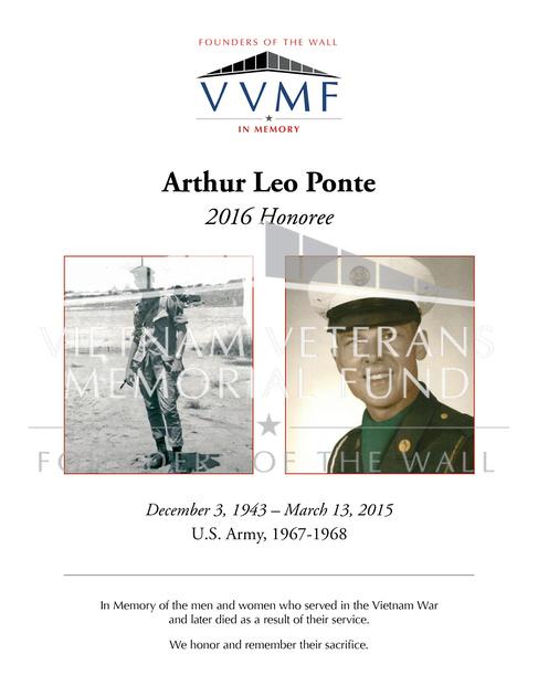 Vietnam Veterans Memorial Fund Founders Of The Wall ...